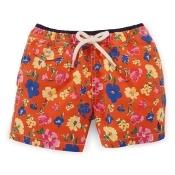 Ralph Lauren Baby Boy Traveler Floral Swim Trunk Orange Chilmark Floral 12 Mos