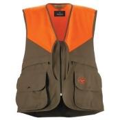 RedHead Upland Field Vest for Men - Brown/Blaze - XL