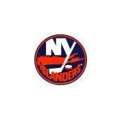 New York Islanders Static Cling Decal