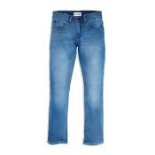 DL1961 Boys' Light-Wash Knit-Denim Jeans - Big Kid