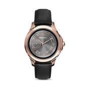 Emporio Armani Rose Gold-Tone Touchscreen Smartwatch, 46mm