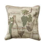 Park B. Smith Fruit of Vine Decorative Pillow