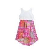 Youngland Sleeveless Lace Pop-Over Sundress - Preschool Girls 4-6x