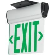Progress Lighting PEESE-SG-16 Single Sided Green Edge-Lit LED Exit Sign