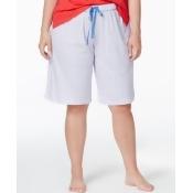 Karen Neuburger Plus Size Bermuda Pajama Shorts