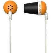 Koss Plug Earphone - Stereo - Orange - Mini-phone - Wired - 16 Ohm - 20 Hz 20 Khz - Earbud - Binaural - In-ear - 3.94 Ft Cable (plugo)