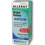 Grass Pollen & Allergies#706 BioAllers 1 oz Liquid