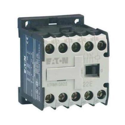 EATON XTMC6A01C Miniature Contactor, IEC, 480VAC, 3P, 6A