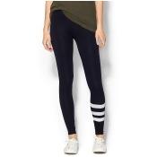 SUNDRY CLOTHING, INC. Stripe Yoga Legging - Navy