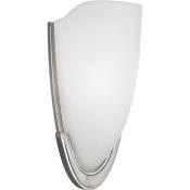 Progress Lighting P7087-09 1 Light Wall Sconce in Brushed Nickel