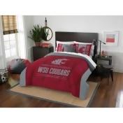 Washington State University Modern Take Full/Queen Comforter Set