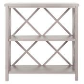 Safavieh Liam Open Bookcase in Grey
