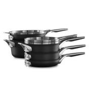 Calphalon® Premier™ Space Saving Hard Anodized Nonstick 8-Piece Cookware Set
