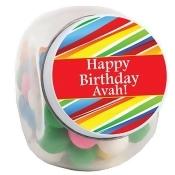 Swirl Lollipop Personalized Candy Jars