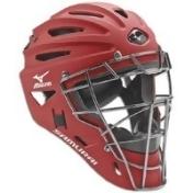 Mizuno Samurai Catchers Helmet G4 - Mens - Maroon