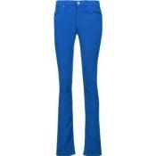 Étoile Isabel Marant - Madlyn Cotton-blend Corduroy Slim-leg Pants - Cobalt blue
