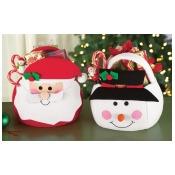 Christmas Holiday Treat Gift Bags Snowman