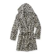 Joe Boxer Junior's Microfleece Robe - Leopard Print, Size: Small
