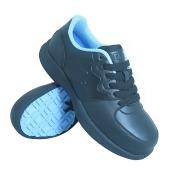 S Fellas by Genuine Grip Women's #520 Black Comp Toe Athletic Work Shoes, 9.5