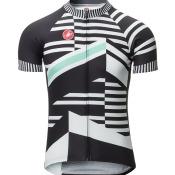 Castelli Razzle Jersey - Men's Blue Stripe, L
