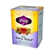 Yogi Yogi Kava Stress Relief Herbal Tea Caffeine Free - 16 Bag - Case of 6