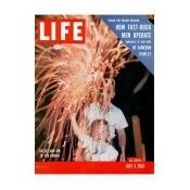 July Fourth Fireworks, July 4, 1955