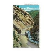 Estes Park, Colorado - Lyons-Allen's Park View of South St. Vrain Canyon