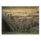 Terracotta Warriors in the Tomb of Chin Shih Huang Ti, Xian, China