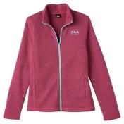 Girls 7-16 FILA Sport® Sweater-Knit Fleece Jacket, Girl's, Size: L(14), Brt Pink