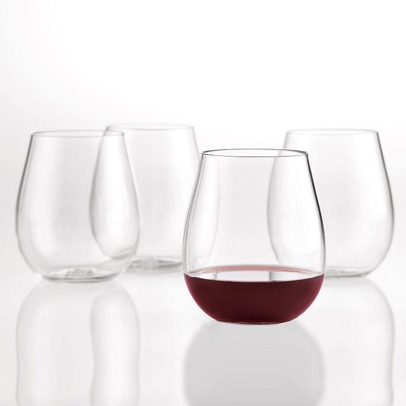 Wine Enthusiast Break Free Wine Tumblers/Set of 4