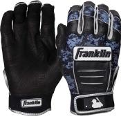 Franklin Adult CFX Pro: Digi Series MLB Batting Gloves - Black/Black Digi Camo