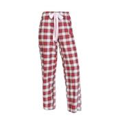 Louisville Cardinals Womens Pajamas Flannel Plaid Pajama Pants