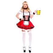 Lovable Oktoberfest Beer Maiden Costume