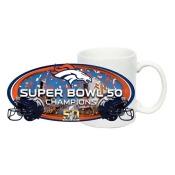 NFL Denver Broncos Super Bowl 50 Champions 11oz White Sublimated Mug