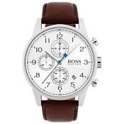 Men's Hugo Boss Navigator Chronograph Watch 1513495