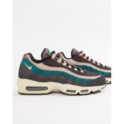 Nike Air Max 95 Premium Sneakers In Grey 538416-018 - Grey
