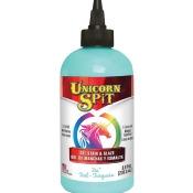 Unicorn Spit Wood Stain & Glaze 8Oz-Zia Teal
