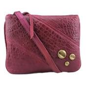Bryna Nicole 3 Stud Bay Bag/Clutch Women Faux Leather Clutch NWT