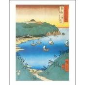 Inlet at Awa Province, 1853 Poster Print by Utagawa Hiroshige (11 x 14)