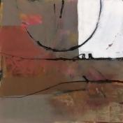 White Resonance I Poster Print by Leslie Bernsen