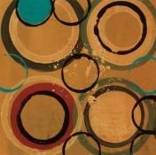 Circle Designs II Poster Print by Leslie Bernsen