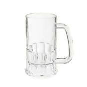 G.E.T. Enterprises 20 Oz Clear Plastic Beer Mug - 12/Case 00085-PC-CL