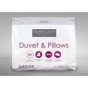 Downland 15 Tog Polypropylene Single Size Duvet Pillow Set