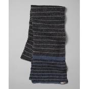 Men's Striped Ragg Scarf