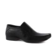 Mens PSL Slip On Black Shoes