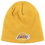 Los Angeles Lakers Adidas NBA Basic Logo Cuffless Knit Hat - Gold