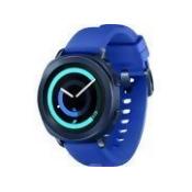 Samsung Gear Sport, Heart Rate Monitoring, Activity Tracker, Canada Warranty, Blue (SM-R600NZBAXAC)