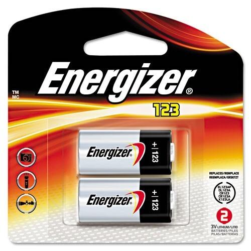 Energizer e2 Photo EL123 - camera battery - CR17345 - Li x 2