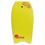 Wave Rebel B116-YW Shoreline 39 In. Body Board - Yellow