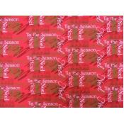 DecorDogz Galore J13M Christmas Tis The Season RED Mini Bandana
